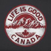 Women's Canada Mountain Coin Crusher Tee