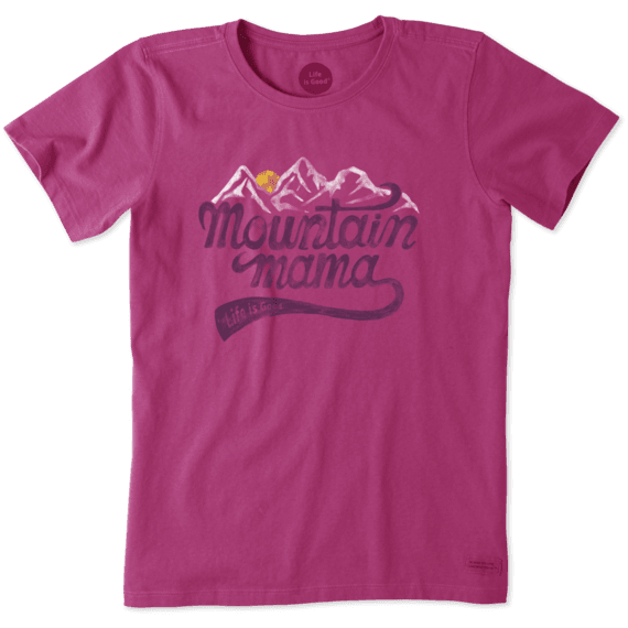 Women's Mountain Mama Landscape Crusher Tee