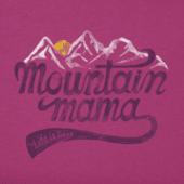 Women's Mountain Mama Landscape Crusher Tee