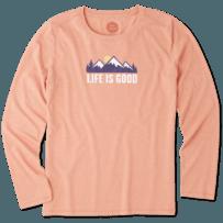Women's Mountain Scene Long Sleeve Cool Tee