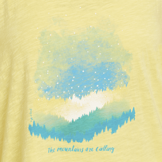 Women's Mountains Are Calling Breezy Tank