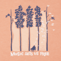 Women's Music Sets Us Free Cool Vee