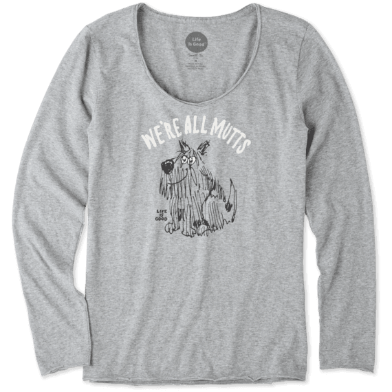 Women's Muttastic Long Sleeve Smooth Tee