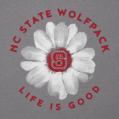 Women's NC State Daisy Long Sleeve Cool Vee