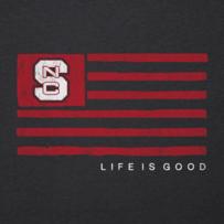 Women's NC State Team Flag Cool Vee