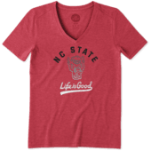 Women's NC State Wolfpack Gradient Tailwhip Cool Vee