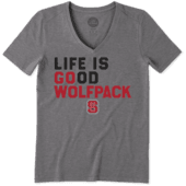 Women's NC State Wolfpack LIG Go Team Cool Vee