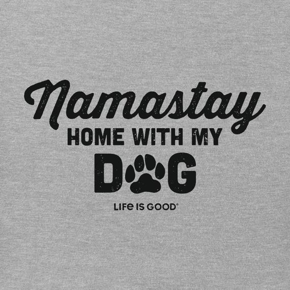 Women's Namastay with My Dog Crusher Tee