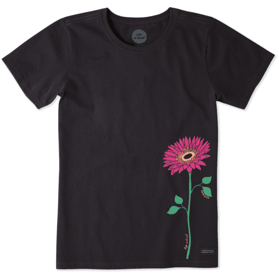 Women's Namaste Daisy Crusher Tee