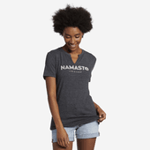 Women's Namaste Favorite Split Neck Tee