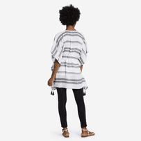 Women's Neutral Stripe Summer Breeze Tunic