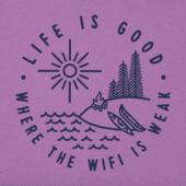 Women's No Wi-Fi Camp Crusher Vee