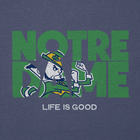 Women's Notre Dame Life is Good Cool Vee