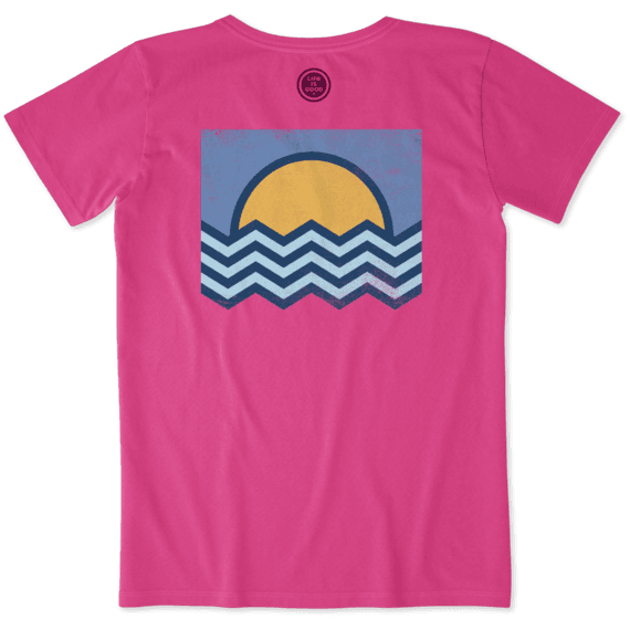 Women's Ocean Angles Crusher Tee