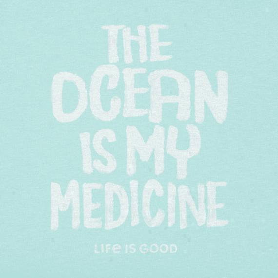 Women's Ocean Is My Medicine Crusher Vee