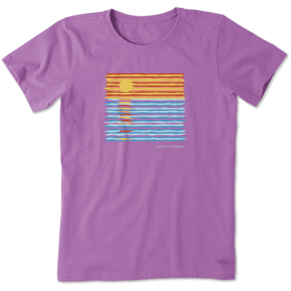 Women's Ocean Spectrum Crusher Tee
