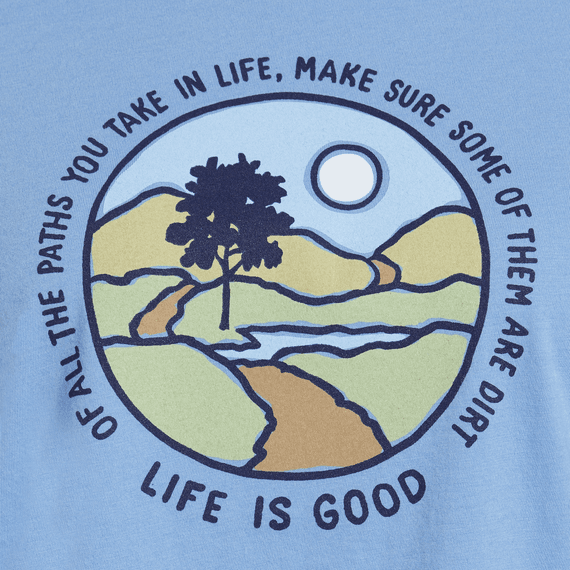 Women's Of All The Paths You Take Long Sleeve Breezy Tee
