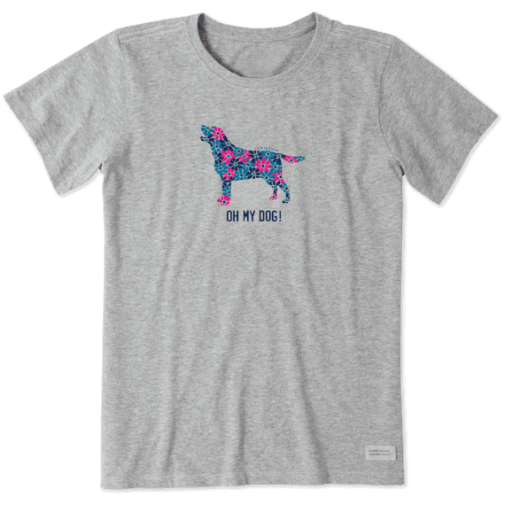 bbe5aefa Women's Oh My Dog Crusher Tee | Life is Good® Official Site