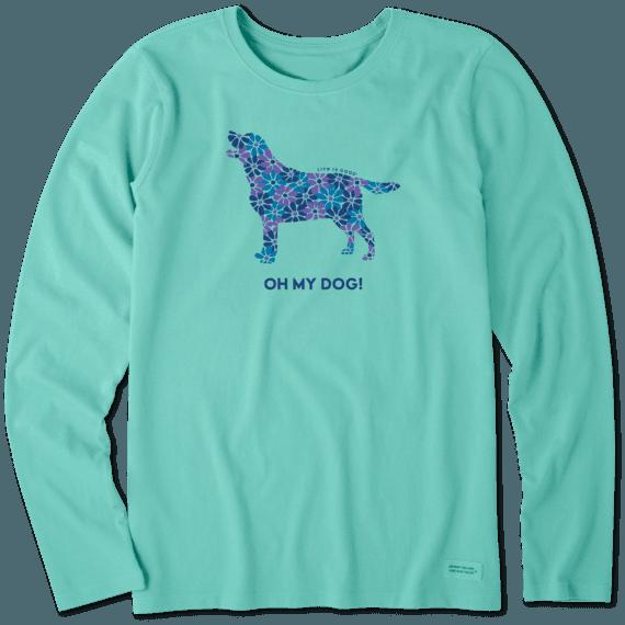 Women's Oh My Dog! Long Sleeve Crusher Tee