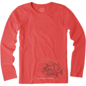 Women's Oh What Fun ATV Long Sleeve Crusher Tee