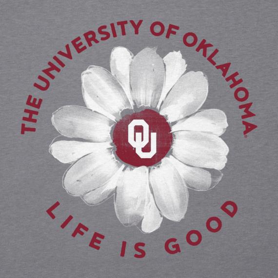 Women's Oklahoma Daisy Long Sleeve Cool Vee