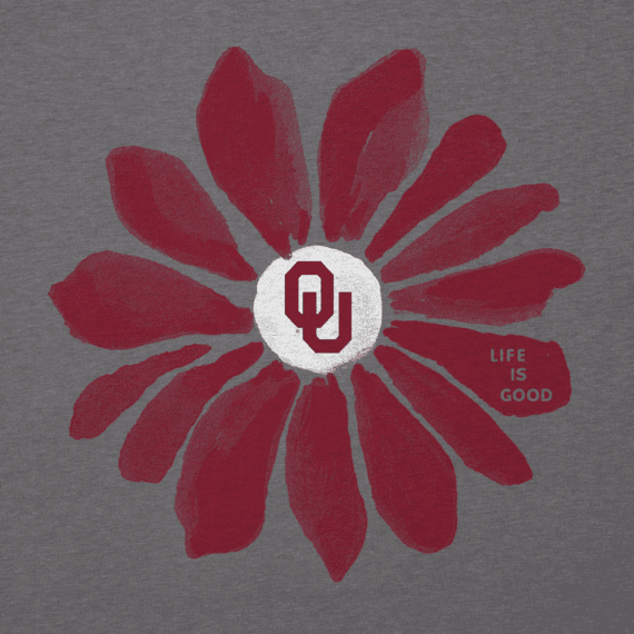 Women's Oklahoma Sooners Daisy Long Sleeve Cool Vee