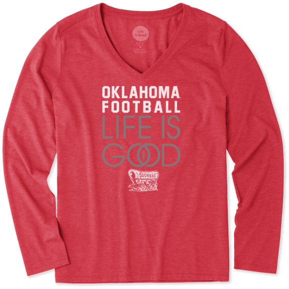 The University of Oklahoma T-Shirts | Life is Good® Official