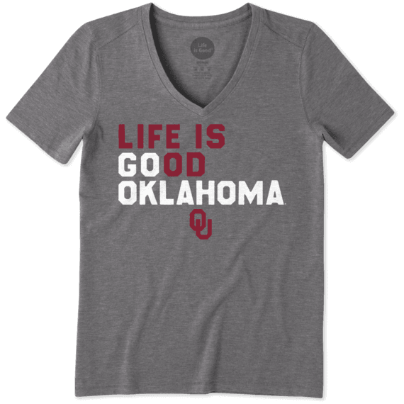 Women's Oklahoma Sooners LIG Go Team Cool Vee