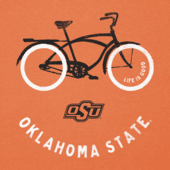 Women's Oklahoma State Beach Cruiser Cool Vee