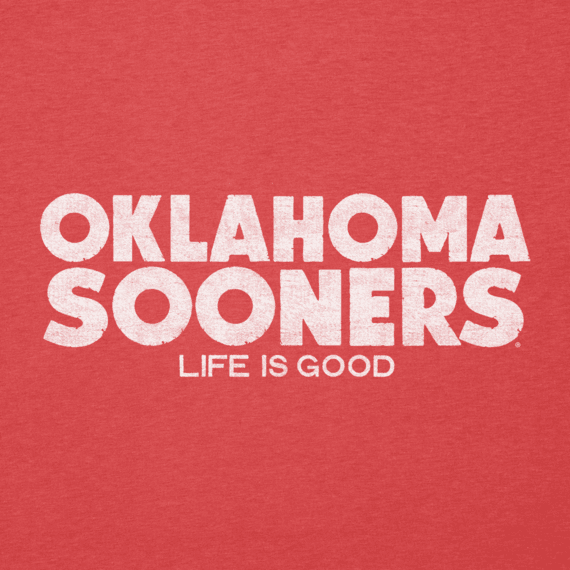 Women's Oklahoma State Life is Good Cool Vee