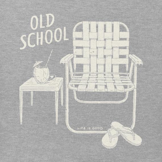 Women's Old School Beach Chair Crusher Vee