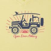 Women's Open Door Policy Cool Vee