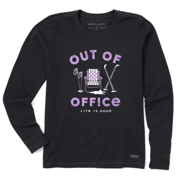 Women's Out of Office Ski Long Sleeve Crusher Tee