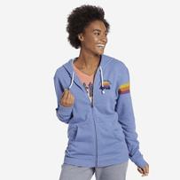 Women's Outdoor Stripe LIG Simply True Zip Hoodie