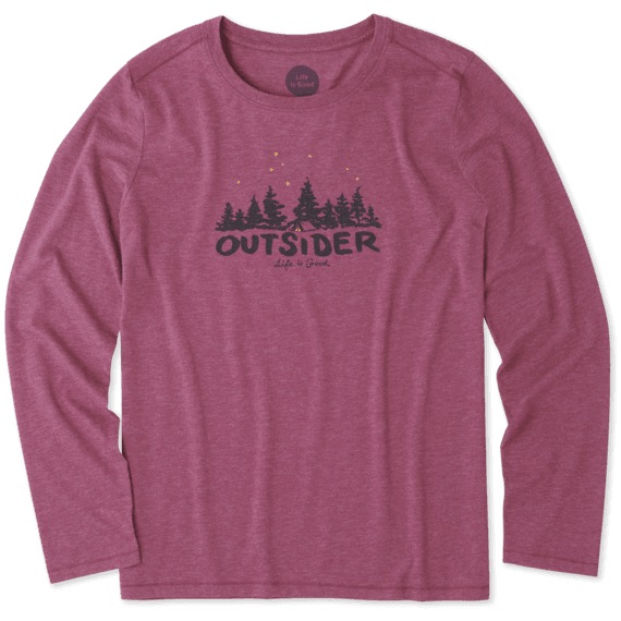 Women's Outsider Long Sleeve Cool Tee