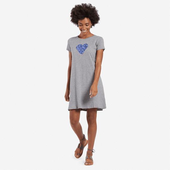 Women's Flower Heart Dress