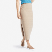 Women's Painted Stripe Beachy Skirt