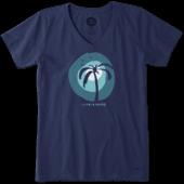 Women's Palm Sun Crusher Vee