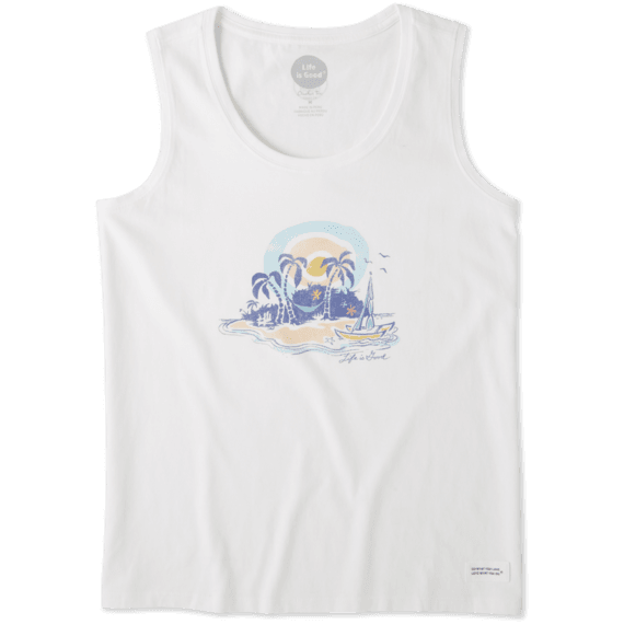 Women's Paradise Crusher Scoop Tank