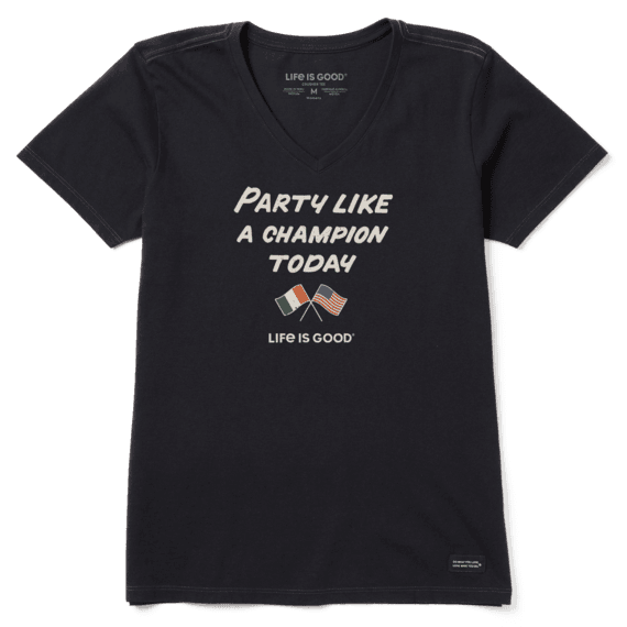 Women's Party Like a Champion Crusher Vee