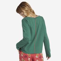 Women's Peace Love Hoppiness Snuggle Up Long Sleeve Sleep Tee