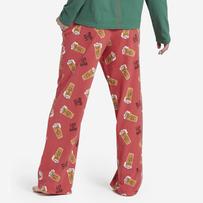 Women's Peace, Love, & Hoppiness Toss Snuggle Up Sleep Pant