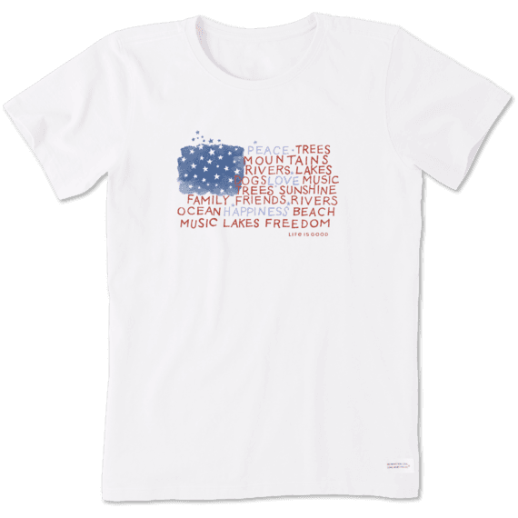 5b672382b7 Women's Graphic Tees | Life is Good® Official Website