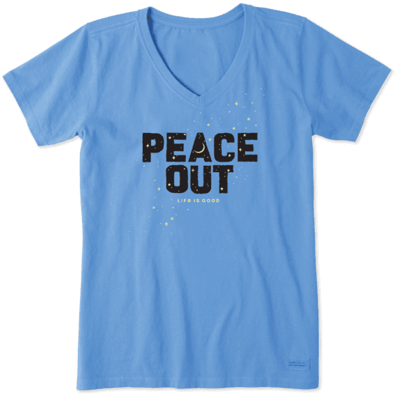 Women's Peace Out Celestial Crusher Vee