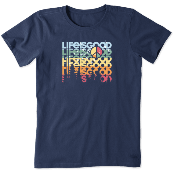 Women's Peace Out Spectrum Crusher Tee