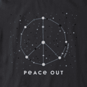 Women's Peace Out Universe Crusher Tee