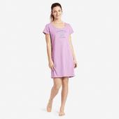 Women's Peaceful State Sleep Tee Dress