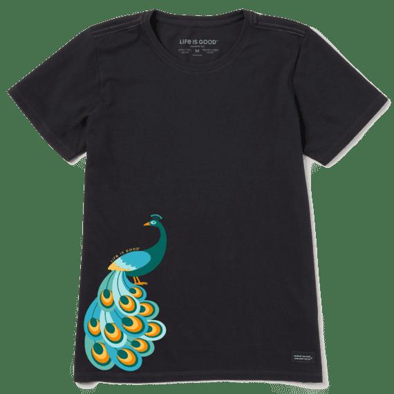 Women's Peacock Power Crusher Tee