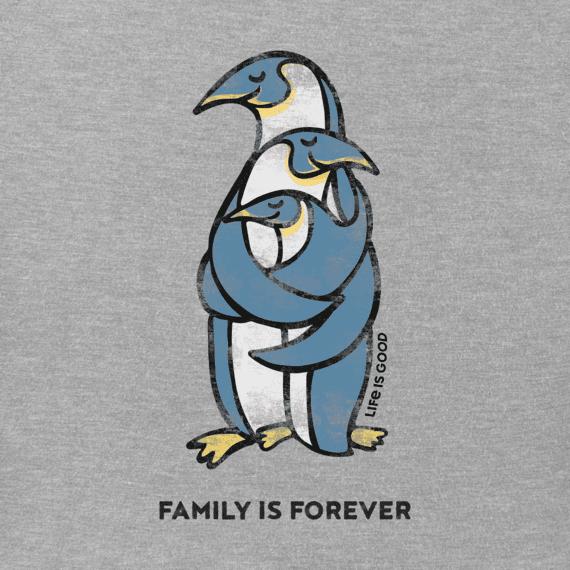 Women's Penguin Family Crusher Vee
