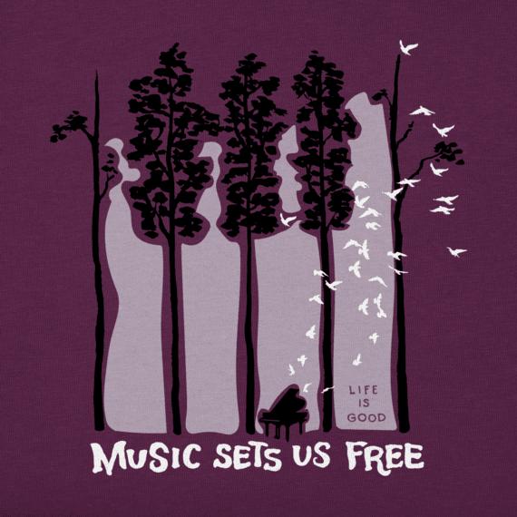 ... Women's Piano Trees Crusher Vee
